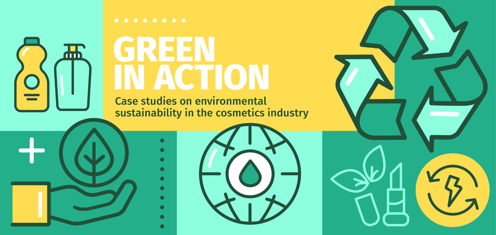 Green in Action: Case studies on environmental sustainability in the cosmetics industry