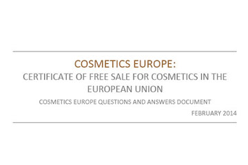 Certificates of Free Sale - Q&A