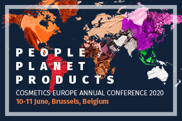 Cosmetics Europe Annual Conference 2020 - Registration is open