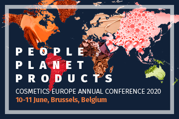 Cosmetics Europe Annual Conference 2020 - Save the date