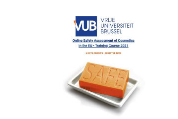 Online Safety Assessment of Cosmetics in the EU – Training Course 2021