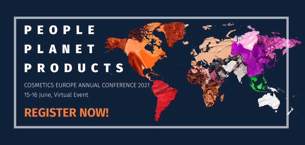 Registration for the virtual Cosmetics Europe Annual Conference 2021 is now open!