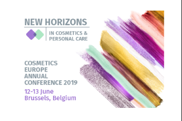 New Horizons in Cosmetics and Personal Care - discussions start today